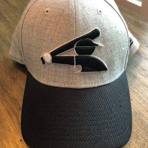 Chicago white sox hat.